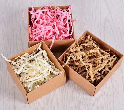 Наполнитель паперфиллер для подарочных коробок и упаковки посылок с хрупкими предметами