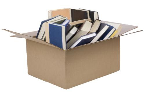 Упаковка и перевозка книг