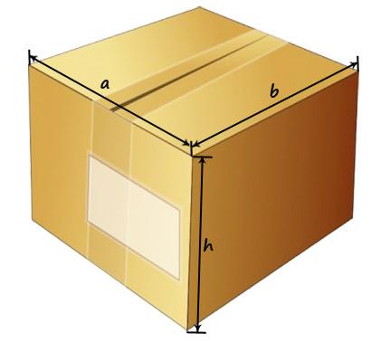 Как рассчитать объем коробки